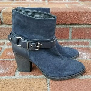 Aquatalia Waterproof Suede Ankle Boots